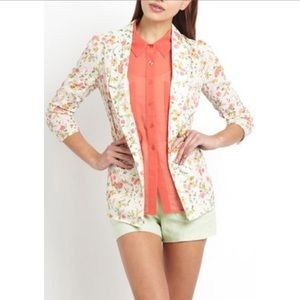 Ark & Co • Lightweight Floral Blazer